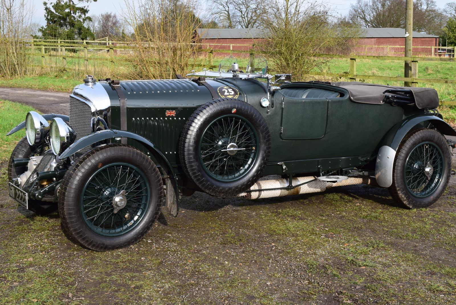 1931 VINTAGE BLOWER BENTLEY No 25 (ONE OF THE ORIGINAL 50)