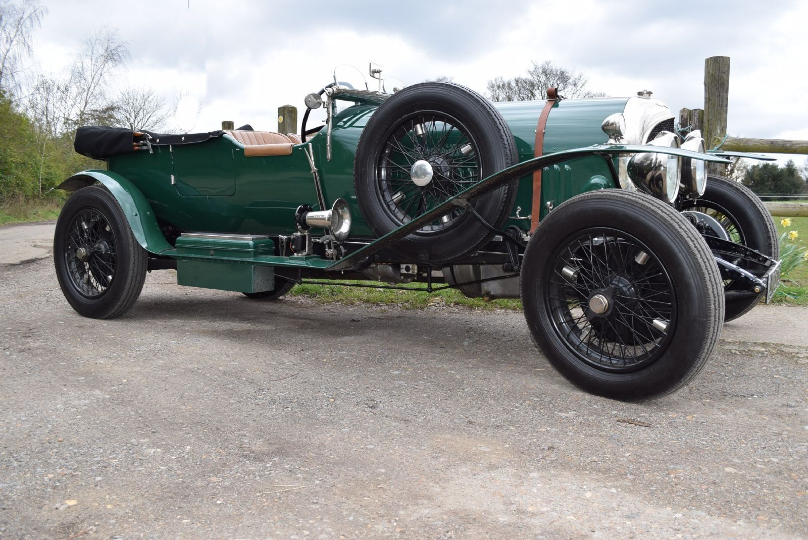 1929 Bentley 4½ Litre Tourer.