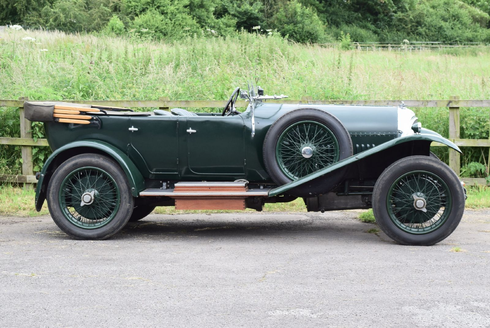 1926 Bentley 3 Litre Speed Model. Body by Park Ward